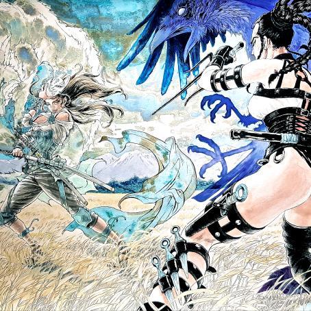 [Exposition] Shin-Ichiro Natsusaka Corbeau-vs-renard-natsusaka-shinichiro-atypiczone-dessin-manga-banjurobig