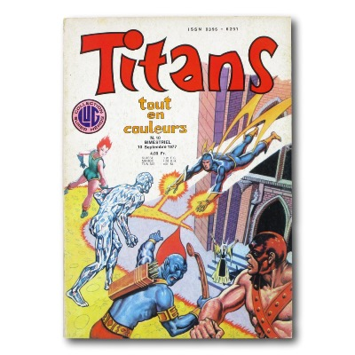 Collectif - Titans - EO N°10