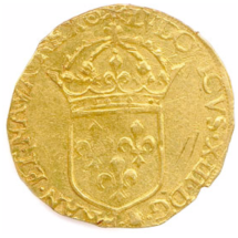 Royaume de France - Louis XIII (1610 - 1643) - Écu d'or