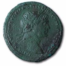 Antiquité romaine - Trajan (98 - 117) - As bronze