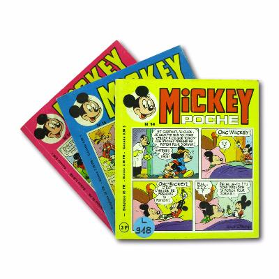 Collectif - Mickey (Poche) - N°14, 15 et 16