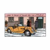Blake et Mortimer, Morgan plus 4 orange - Aroutcheff