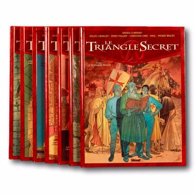 COLLECTIF - Le Triangle Secret - EO des Tomes 1 à 7