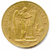 IIIème République - 20 Francs or - Paris, 1888