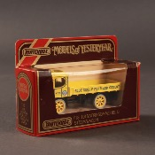 MATCHBOX MODELS OF YESTERYEAR - Y18 1918 Atkinson MODEL D Steam Wagon