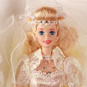 Barbie en porcelaine Star Lily Bride