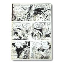 MARCH OF COMICS - Planche Originale - Tarzan