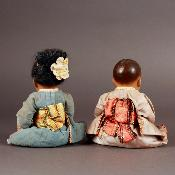 Petitcollin - Couple d'Asiatis - Circa 1930