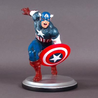 Diamond Select - Statuette Captain America Marvel Milestones