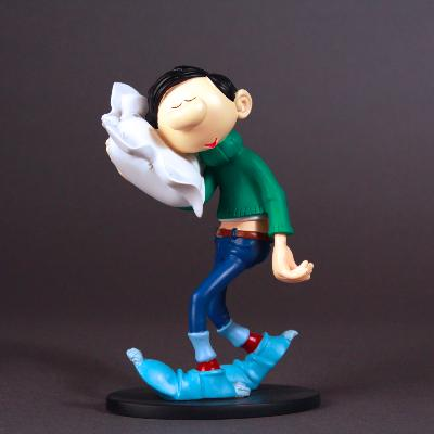 Plastoys Collectoys - Gaston avec son oreiller