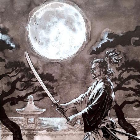 [Exposition] Shin-Ichiro Natsusaka Banjuro-lune-manga-natsusaka-bd-manga-atypiczone-mangaka-big